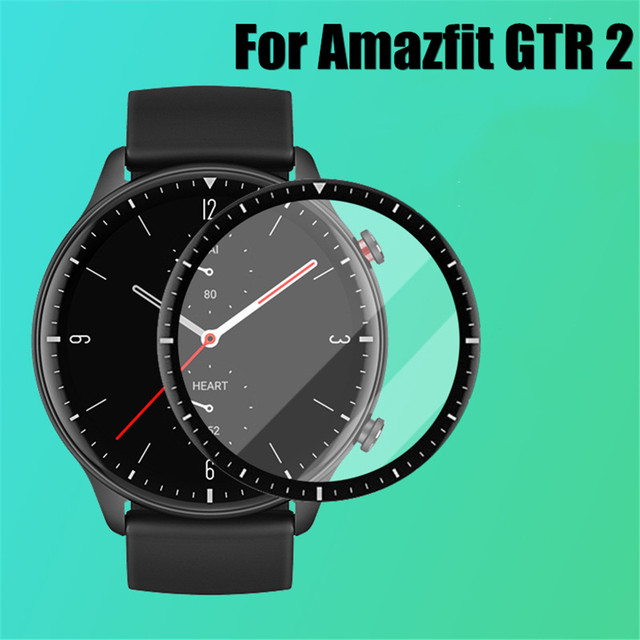 3D Curved Full Edge Soft Protective Film For Xiaomi Huami Amazfit GTR 2 Screen Protector for Amazfit Watch GTR2 Smartwatch Cover 2