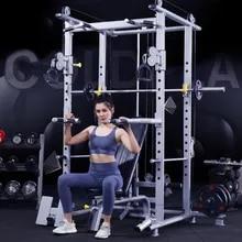 Smith Machine comprehensive trainer frame free squat rack home fitness equipment set combination mechanical Smith Hip thrust