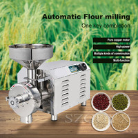 Multifunctional large powder machine Dry material mill Strong thickening Walnut grinder