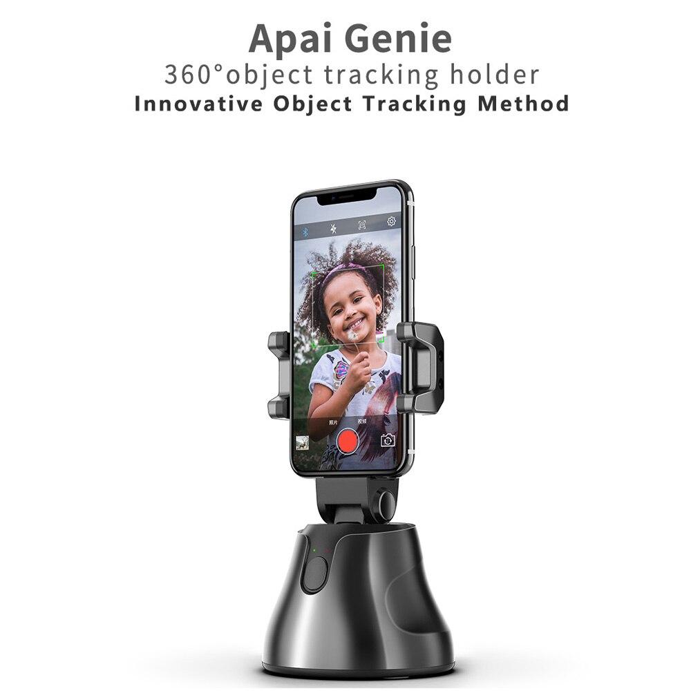 Apai Genie portátil Auto-seguimiento captura inteligente Selfie Sticks , 360 rotación Auto Seguimiento de la cara Cámara disparo inteligente Almohadilla antideslizante agarre a tierra, suelas adhesivas antideslizantes, alfombrillas para zapatos