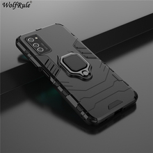 Holder Magnetic Case For Huawei Honor V30 Case 3-In-1 Shockproof Hard Durable Ring Stand Cover For Honor V30 Case Honor V30 Pro 360 full protection case for huawei honor v30 case luxury hard pc shockproof cover for honor view30 pro v30 bumper capa