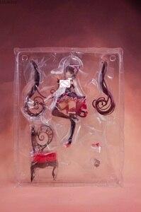 Image 5 - Japanse Anime 1/7 Schaal Sexy Meisje Inheemse Nekopara Chocola & Vanille Stoel Ver. Pvc Action Figure Staande Collection Model 24Cm
