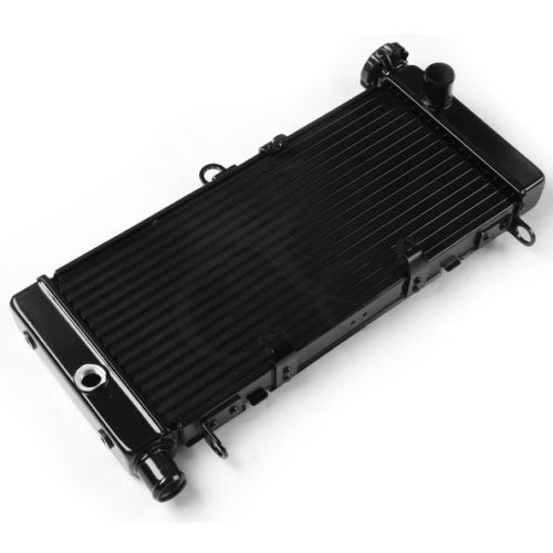 Black Motorcycle Aluminum Radiator Cooler System For Honda SUZUKI GSXR600/750 Accessories