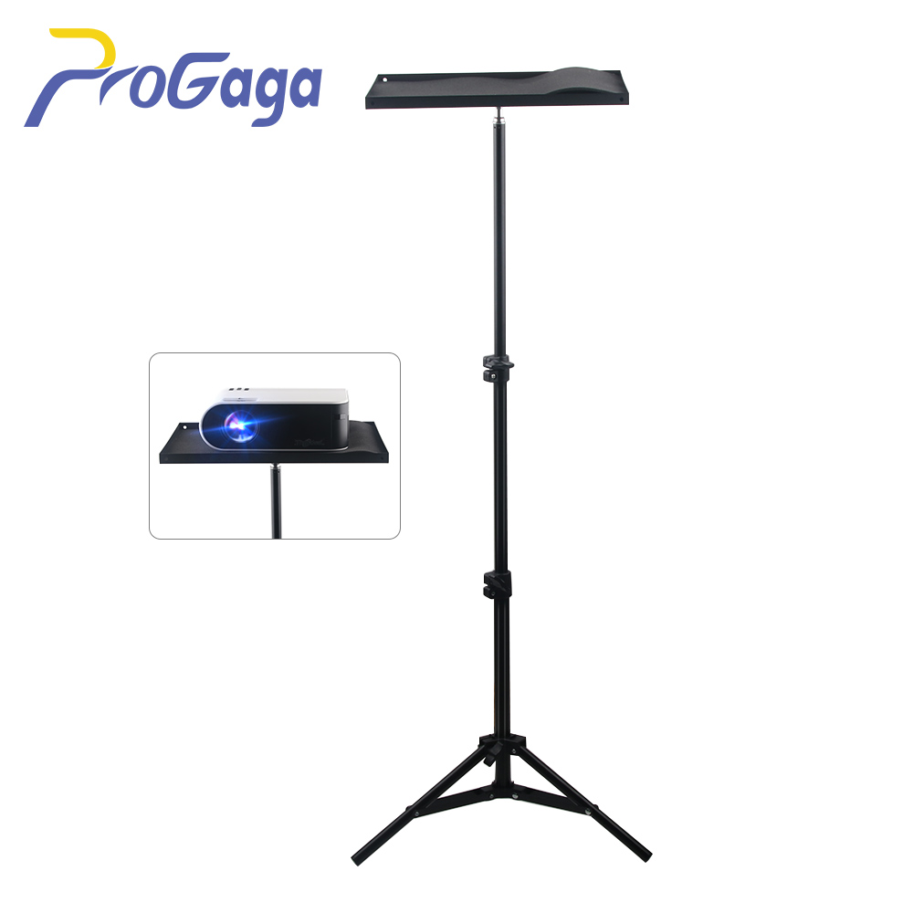 ProGaga Projector Bracket 110cm 160cm Adjustable Photography Tripod Tray Stand Mount for Xiaomi Projector Camera Laptop