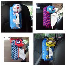 Stuffed Toy Tissue-Box Vehicle-Mounted Doraemon Rabbit Gift Plush-Paper Funny 1pc 24cm