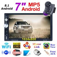 Universal RK A718 7in Screen Android 8.1 1G+16G Car In dash Stereo GPS Bluetooth 4.0 FM Radio Mirror Link MP5 Multi Media Player