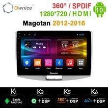 Ownice 8Core אנדרואיד 10.0 רכב רדיו נגן GPS k3 k5 k6 עבור פולקסווגן CC Magotan פאסאט b7 2012 2013 2014 2015 2016 DSP SPDIF