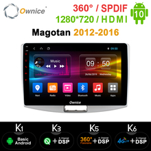 Ownice 8Core Android 10.0 เครื่องเล่นวิทยุGPS K3 K5 K6 สำหรับVolkswagen CC Magotan Passat B7 2012 2013 2014 2015 2016 DSP SPDIF