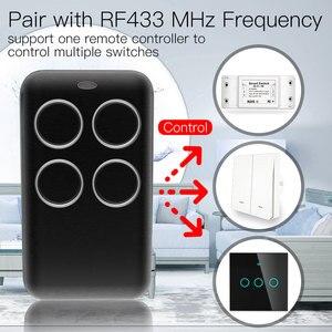 Image 2 - אלחוטי RF מקלט למידה קוד מפענח 433MHz שלט רחוק מפתח 4 ערוץ בקר DIY מפתח עבור מתג קידוד 1527