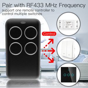 Image 2 - Wireless RF Receiver Learning Code Decoder 433MHz Remote Control Key 4 Channel Controller DIY Key for Switch Encoding 1527