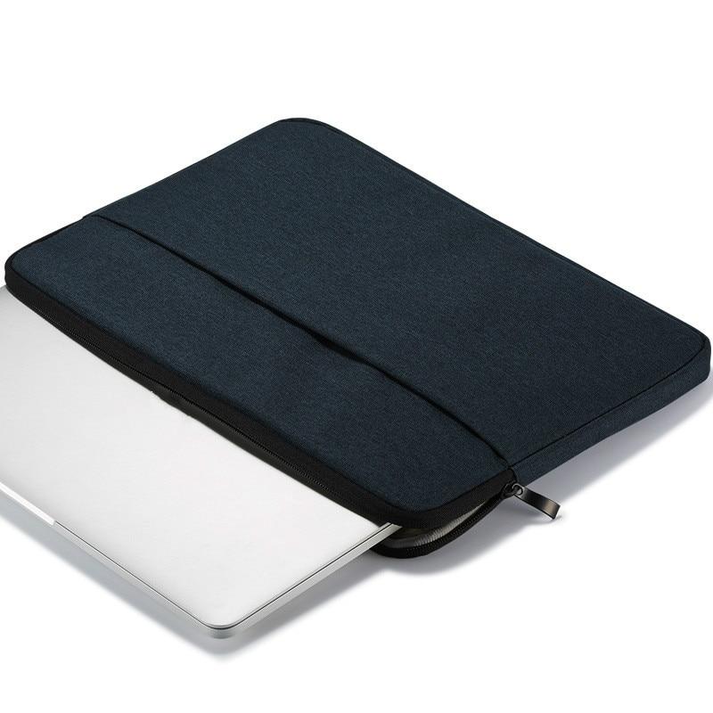 10.9-11inchDark Blue Navy Blue Case For iPad Pro 11 A1980 A2013 A1934 Cover Tablet Zipper Sleeve Pouch Bag iPad Air4
