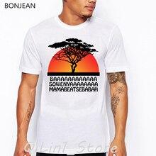 Vintage tshirt men Hakuna Matata funny T shirts camisetas hombre the Lion King Simba graphic tees shirt homme t-shirt tops