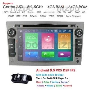IPS DSP 4GB Android 10 2 DIN CAR GPS for opel Vauxhall Astra H G J Vectra Antara Zafira Corsa Vivaro Meriva Veda DVD PLAYER CAM