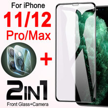 For Iphone 12 pro max case ip 11 12pro 11pro armor i phone cover promax 12max mini 12promax pr camera lens protector glas