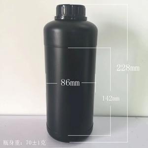 Image 4 - 1000ml Dunkelkammer Chemische Trank Lagerung Kunststoff Flaschen Film Entwickeln Prozess 1L HDPE Lagerung Flasche