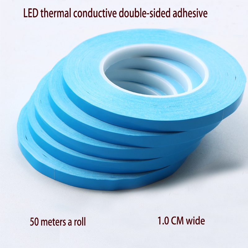 New Heat Conduction Double-sided Tape LED Lamp Strip Fixing Liquid Mold Aluminum Substrate Heat Dissipation Insulation Pad Resis