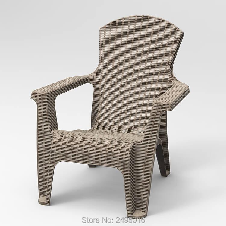 Outdoor Wicker Rattan Armchair
