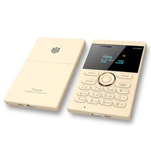 Image 5 - Ultra Sottile Per Bambini Cellulare ifcane E1 Del Telefono Delle Cellule Mini Carta Dello Studente Tasca Basso di Radiazione Del Telefono Mobile