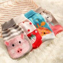 Pullover Puppy-Jacket Pet-Cat-Clothing Christmas-Dog-Sweater Yorkies Dogs Ubranka Small