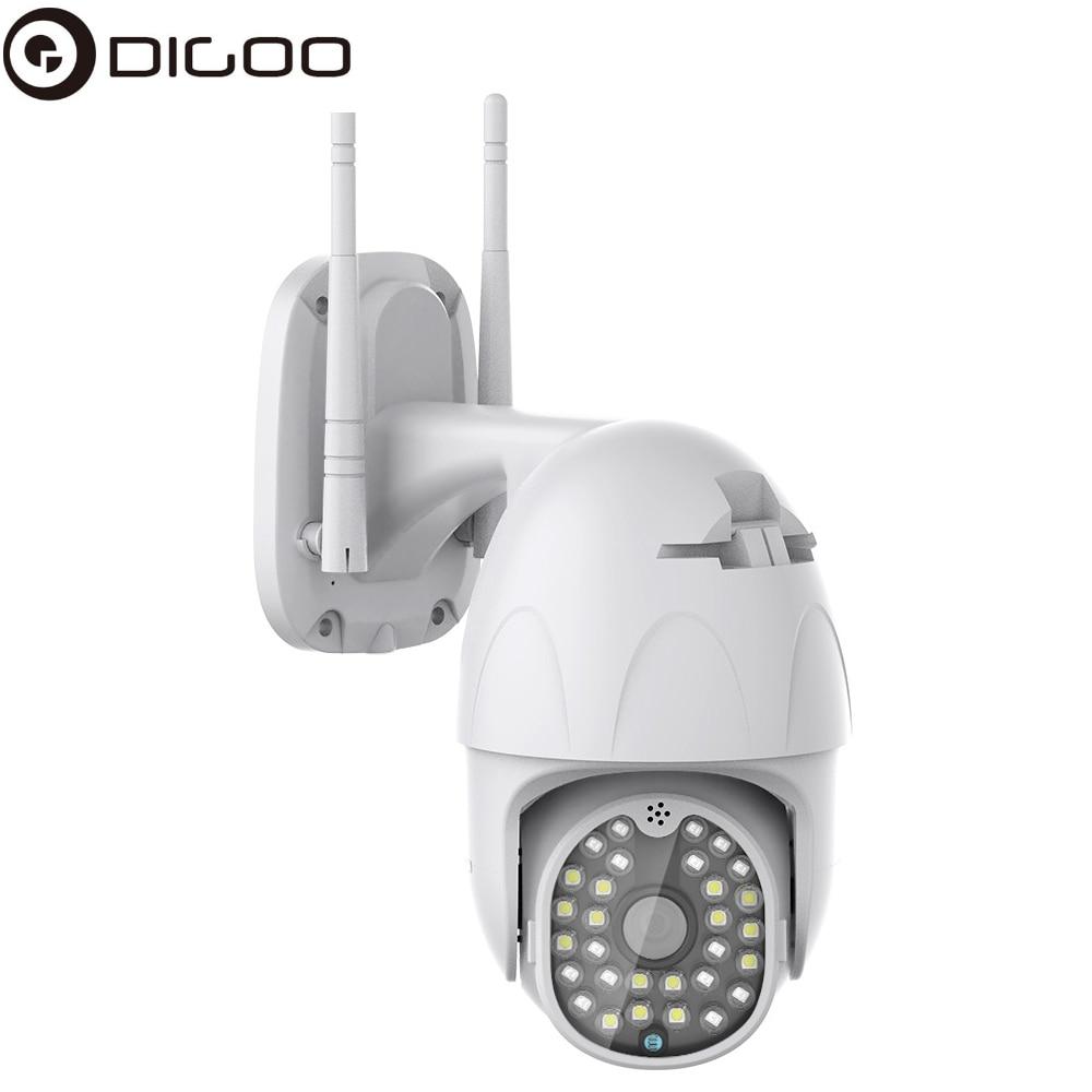 DIGOO DG-ZXC41 2MP 1080P PTZ Smart Speed Dome Camera 30 LEDS IR Full-color Night Vision Outdoor Security Monitor CCTV IP Camera