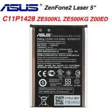 Оригинальный аккумулятор asus высокой емкости c11p1428 для zenfone2