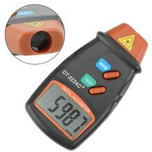 Tachimetro per auto Laser digitale foto contagiri indicatore di velocità palmare RPM Meter contagiri Laser senza contatto Display LCD