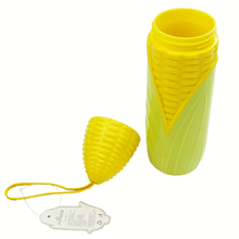 Clearance Sale Corn Shaped Kids Water Bottles Sports Hiking Running Cycling Drink Fruit Infuser Shaker Bottle 220ml