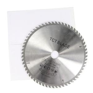 Image 5 - 1pc 250/255/300mm Kreissäge Klinge TCT Holz Sägeblatt Weichen Metall Holz Sah Schneiden disc