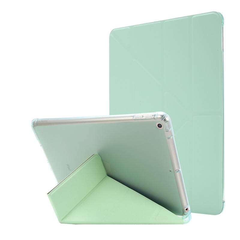 green Yellow Cover For iPad 7th Generation Case 10 2 inch PU Leather Flip Stand Smart Protective Cover