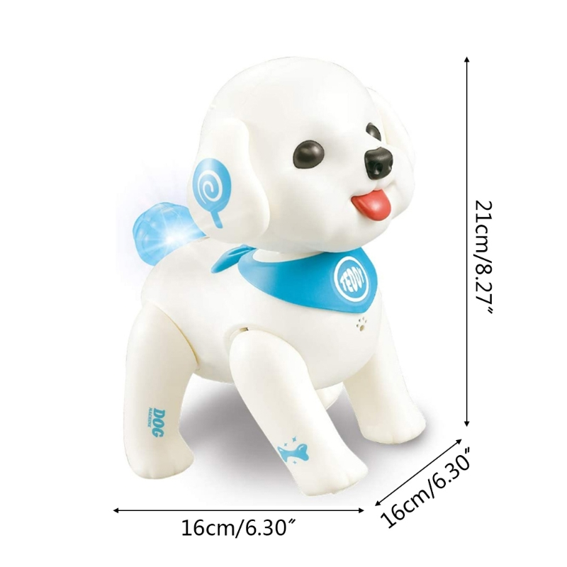 RC Robot Dog Smart Puppy Teddy Programmable Remote Control Electronic Pet Toys 54DF