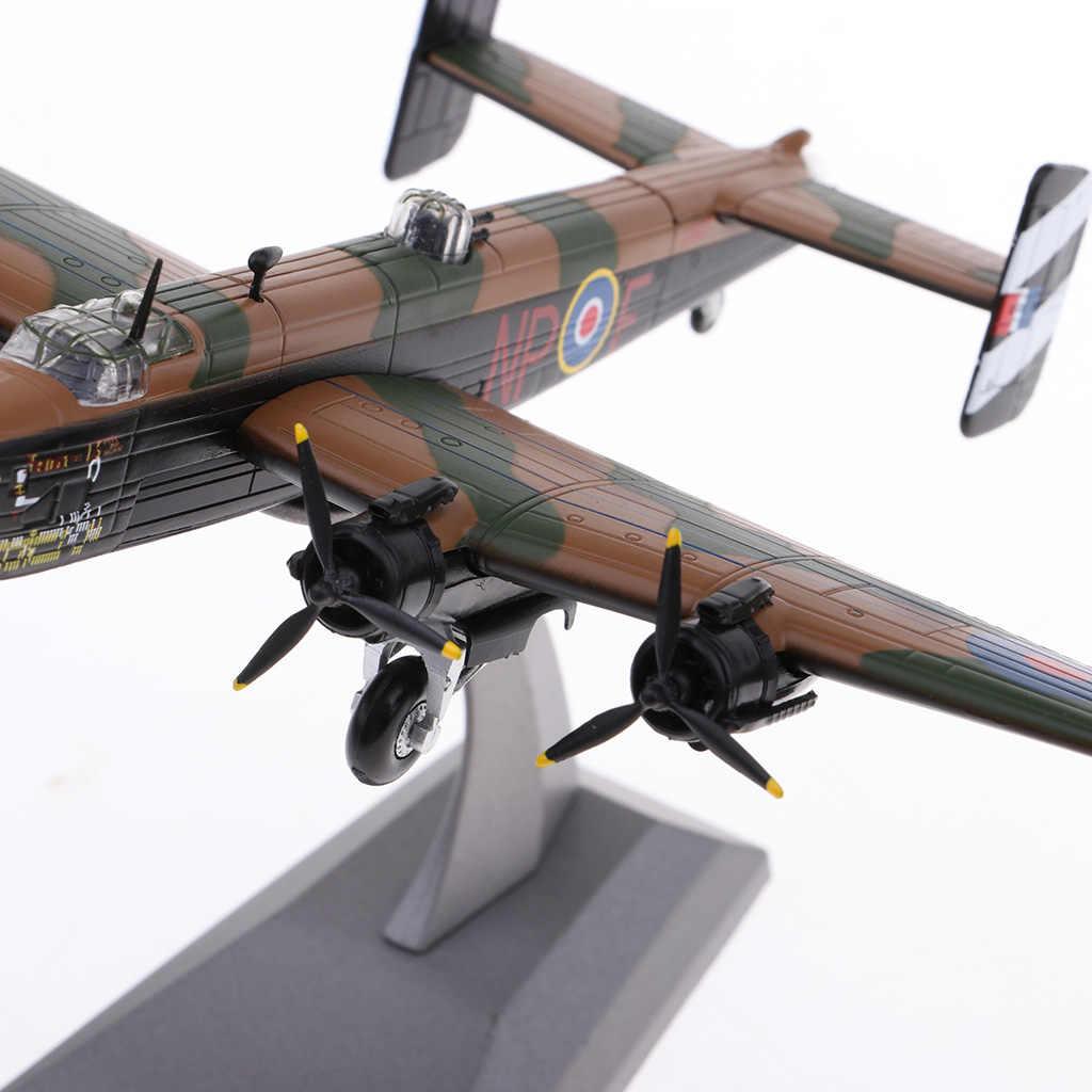 1//144 Alloy Diecast Warplane Modell British Handley Page Halifax B Mk III