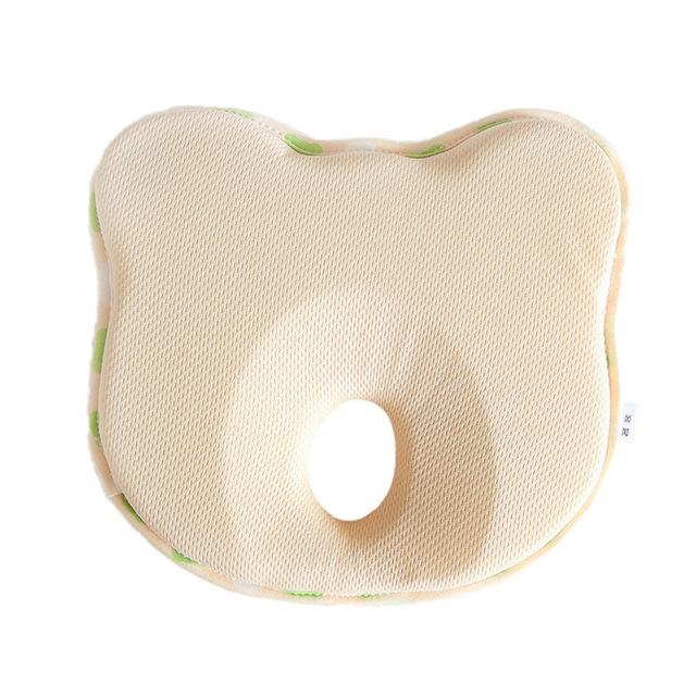 Baby Pillow Cartoon Toddler Newborn Boy Girl Sleep Positioner Anti Roll Cushion Flat Head Pillows Protection with Retail Package