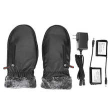 Warmer Battery Heated-Gloves Motorcycle Electric Winter 220V
