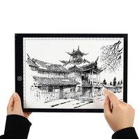 Kopie Bureau Met Usb Kabel Acryl Panel 5W 5V Digitale Tabletten Tekening Tablet Artcraft A4 Kopie A4 Led board