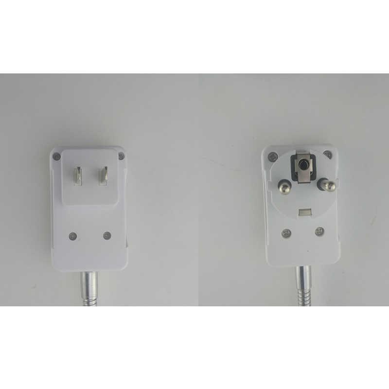 Flexible E27 Light Lamp Bulb Adapter Extension Converter Wall Base Holder Screw Socket EU US Plug Lamp Holder AC 100 - 240V