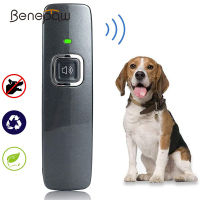 Benepaw Ultrasonic Anti Barking Device Wrist Strap Hand-Held Dog Repeller Bark Control Pet Behavior Training 6m/19ft Range 1