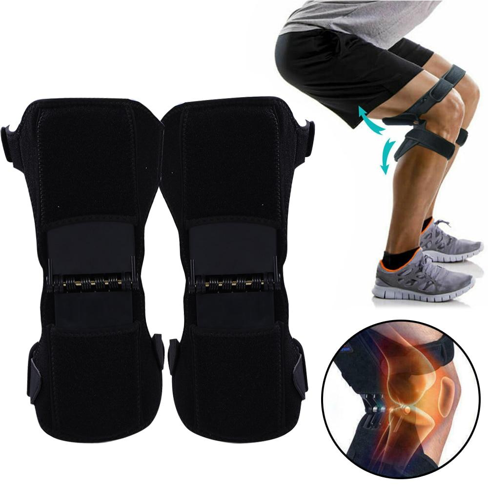 Противоскользящие наколенники для поддержки суставов, Защитные Спортивные наколенники, дышащие, 1/2 шт, мощность подъема, мощная сила отскока, наколенник