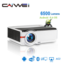 Caiwei A9/A9AB Smart LED Supporto 1080p Proiettore Home Cinema Full HD Video Mobile Beamer Android WiFi Bluetooth hdmi VGA AV USB