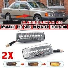 DHBH – feu de signalisation latéral dynamique, clignotant, pour Mercedes Benz C E S SL classe W201 190 W202 W124 W140 R129