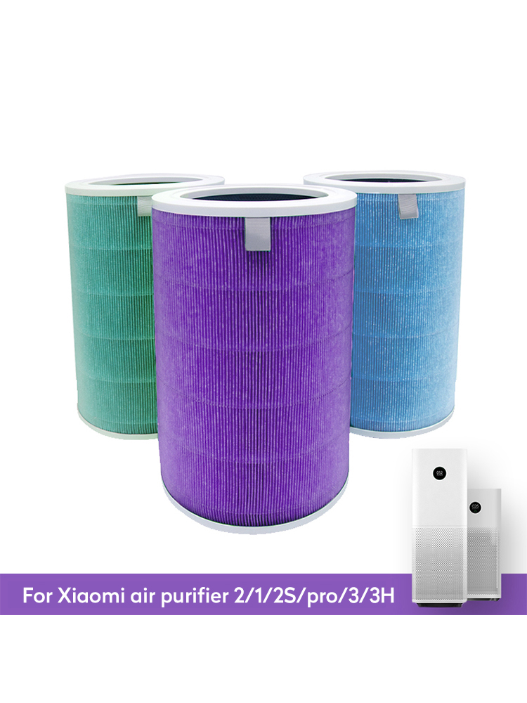 AIR-FILTER CARBON-HEPA-REPLACEMENT-FILTER Anti-Bacteria Mi Xiaomi for 3/3H Pro Formaldehyde