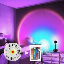 Светодиодная лампа «закат», «сделай сам», 220 В, cob, RGB чип, 220 В, светодиодная матрица, нет необходимости в драйвере, светодиодные точечные свет...