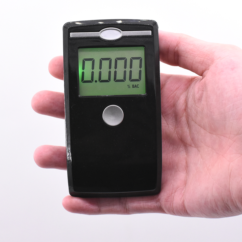 High Sensitive Mini Alcohol Tester LCD Digital Display Professional Alcohol Detector Alcohol Concentration Breathalyzer Detector in Alcohol Tester from Automobiles Motorcycles