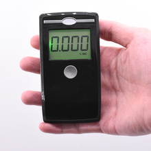 High Sensitive Mini Alcohol Tester LCD Digital Display Professional Detector Concentration Breathalyzer