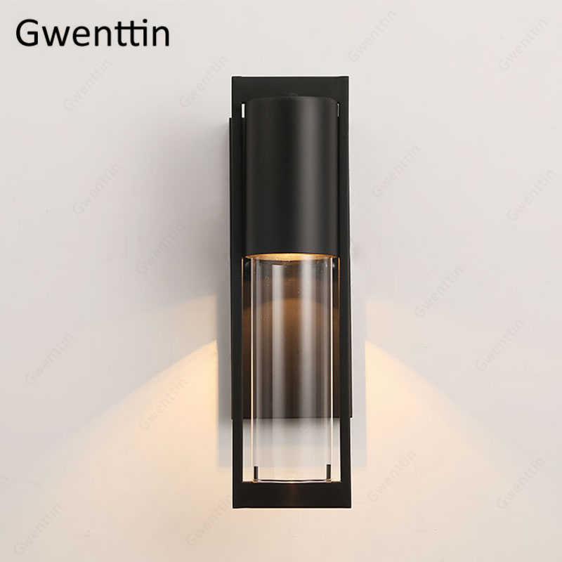 Водонепроницаемый наружный настенный светильник освещение Настенный светильник для виллы сад прохода бар настенные светильники для ванной комнаты в американском ретро стиле лофт промышленный