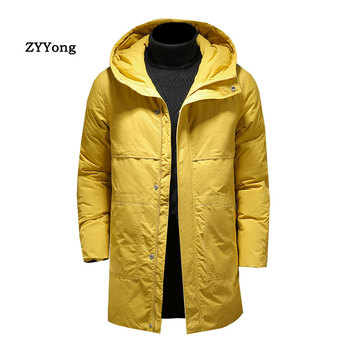 Autumn Winter 2020 Warm Men Jacket Coats Hooded Casual Thicken Parka Windproof Cotton-padded Clothes Men's Coat Size M-4XL men winter jacket workwear hooded reflective thicken padded cotton clothes wear resistant work safety jacket workshop coat