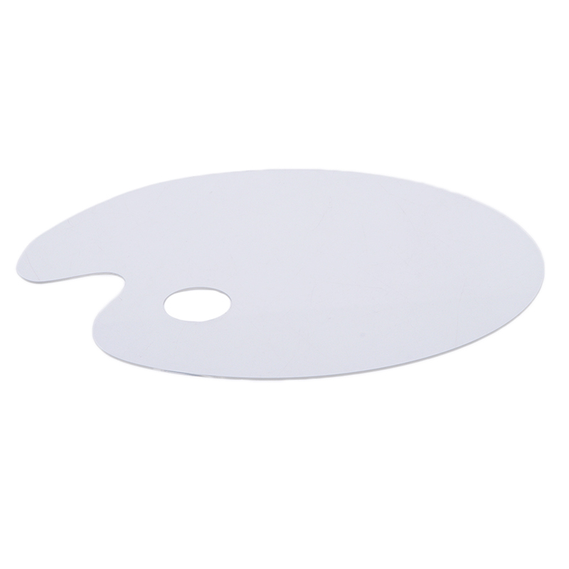 Clear Acrylic Artist Paint Mixing Palette Makes Cleanup for Painting 20*30cm