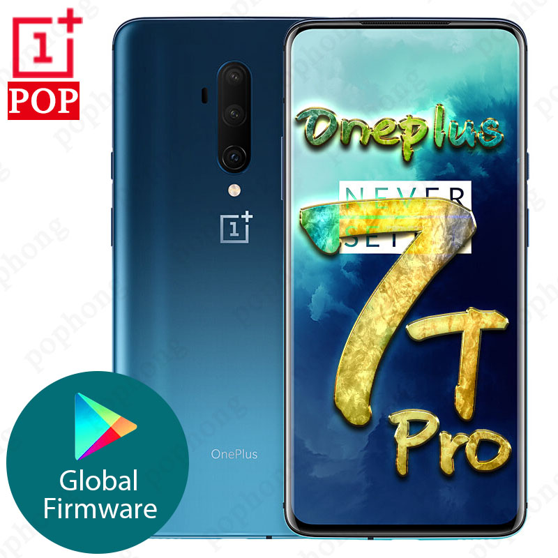 Global ROM 6.67 inch Original OnePlus 7T Pro MobilePhone Snapdragon 855 Plus Octa Core 48MP Triple Cameras in screen unlock|Cellphones| - AliExpress
