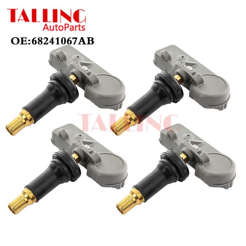 Tire Pressure Monitoring System Sensor TPMS for DOD-ge Su-zuki 4pcs OE 56029398AB 4pcs
