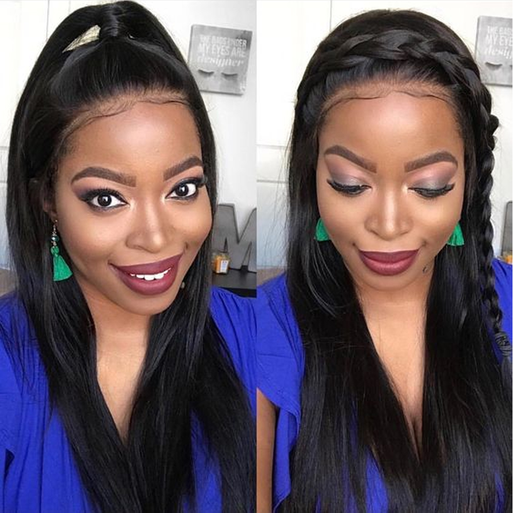 human hair lace front 1