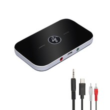 цена на 2 in1 Bluetooth Transmitter Receiver Wireless Audio Adapter For TV Headphone Speakers 3.5mm Home Stereo Bluetooth Music Adapter